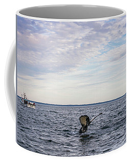 Coffee Mug featuring the photograph Whale Watching In Canada by Trace Kittrell