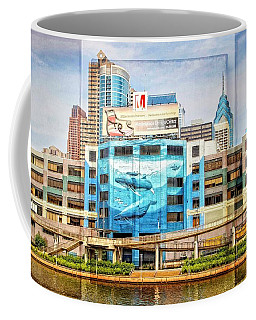Whales In The City Coffee Mug