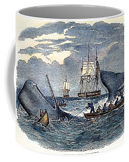Whaling In South Pacific Coffee Mug