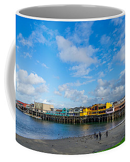 Wharf And Beach Coffee Mug
