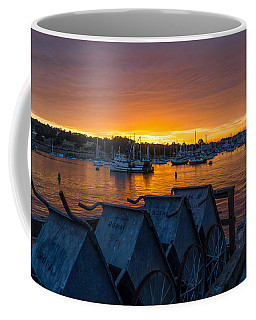 Wharf Sunset Coffee Mug