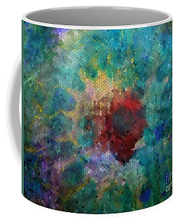 Coffee Mug featuring the digital art What A Bee Sees by Claire Bull