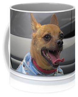 Coffee Mug featuring the photograph What A Car Alarm  by Aaron Martens