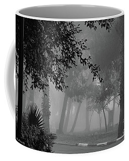 What A Foggy Morning Coffee Mug by Arik Baltinester