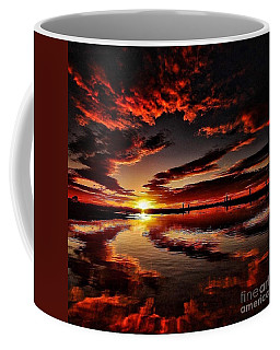 Coffee Mug featuring the digital art What A Sunrise by James Weatherly