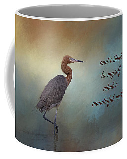 Coffee Mug featuring the photograph What A Wonderful World by Kim Hojnacki