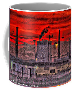 Port Of Savannah Coffee Mug