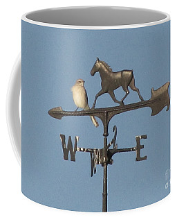 What Did You Say Coffee Mug by Donna Brown