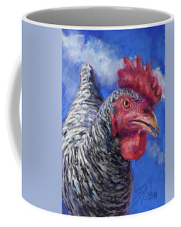 Coffee Mug featuring the pastel What Do You Want by Billie Colson