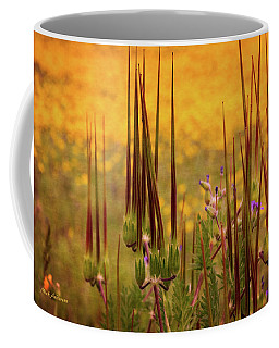 Coffee Mug featuring the photograph What Some Call Weeds by Mick Anderson