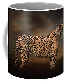 What You Imagine - Cheetah Art Coffee Mug