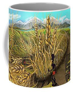 Wheat Field Day Dreaming Coffee Mug