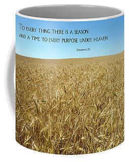 Wheat Field Harvest Season Coffee Mug