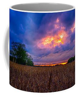 Wheat Field Sunset Coffee Mug