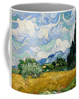 Wheat Field With Cypresses Coffee Mug