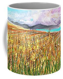 Wheat Landscape Coffee Mug