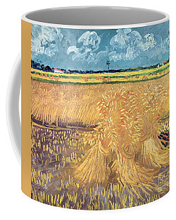 Wheatfield With Sheaves Coffee Mug