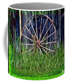 Wheel Of Fortune Coffee Mug by EricaMaxine  Price