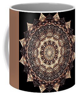 Wheel Of Life Mandala Coffee Mug
