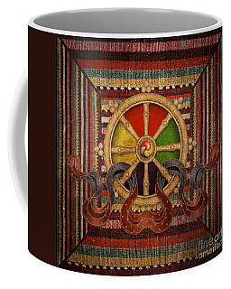 Wheel Of The Dharma Coffee Mug