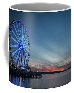 Wheel On The Pier Coffee Mug