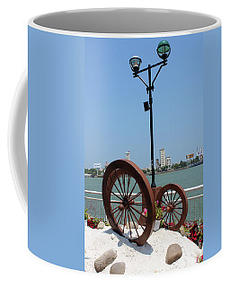 Wheels By The Water Coffee Mug