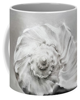 Coffee Mug featuring the photograph Whelk In Black And White by Benanne Stiens
