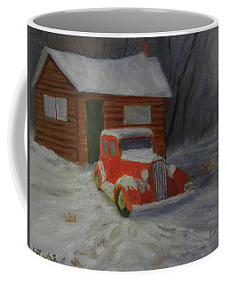 When Cars Were Big And Homes Were Small Coffee Mug