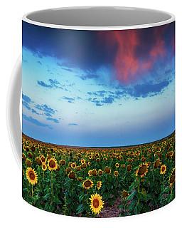 Coffee Mug featuring the photograph When Clouds Dance by John De Bord