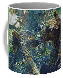 When Grizzlies Play II Coffee Mug