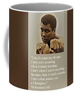 When It Counts Coffee Mug