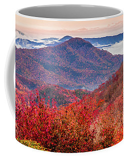 Coffee Mug featuring the photograph When Mountains Sing by Karen Wiles