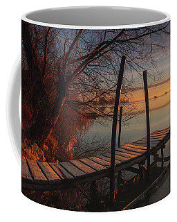 When The Light Touches The Shore Coffee Mug