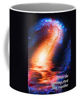 When The Morning Stars Sang Coffee Mug