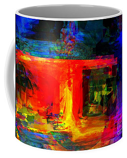 When Water Will Not Stop Coffee Mug