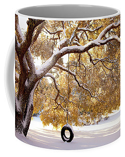 When Winter Blooms Coffee Mug