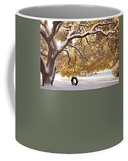 Coffee Mug featuring the photograph When Winter Blooms by Karen Wiles