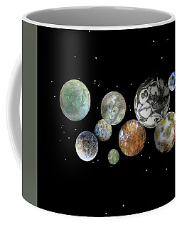 Coffee Mug featuring the photograph When Worlds Collide by Tony Murray