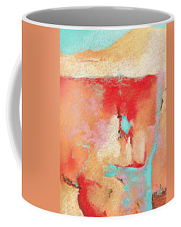 Coffee Mug featuring the painting Where Am I 1 by M Diane Bonaparte