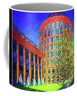 Where Business Begins Coffee Mug