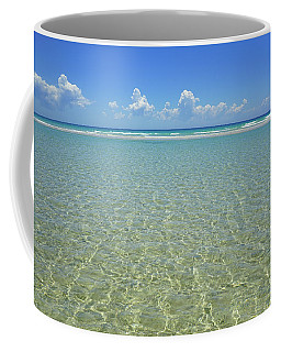 Where Crystal Clear Ocean Waters Meet The Sky Coffee Mug