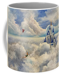 Where Dreams Come True Coffee Mug by Randy Burns