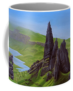 Where Giants Roam The Skye Coffee Mug