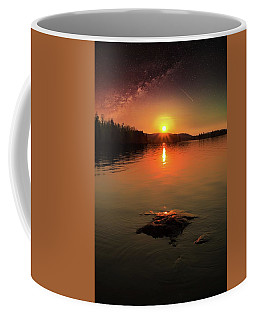 Where Heaven Touches The Earth Coffee Mug by Rose-Marie Karlsen