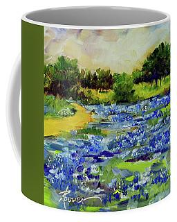 Where The Beautiful Bluebonnets Grow Coffee Mug