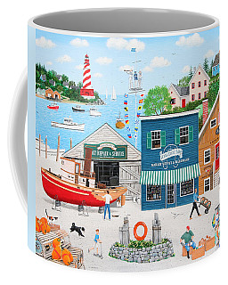 Where The Buoys Are Coffee Mug