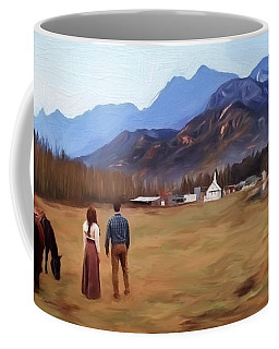 Where The Heart Is - Landscape Art Coffee Mug