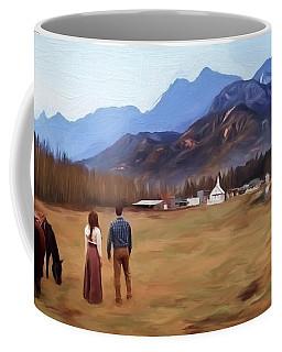Where The Heart Is - Landscape Art Coffee Mug by Jordan Blackstone