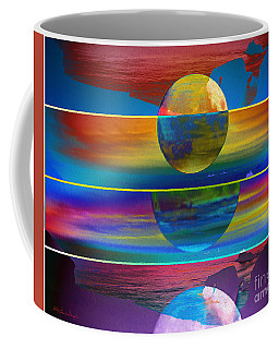 Where The Land Ends Coffee Mug