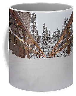 Where The Path Leads Coffee Mug by Sabine Edrissi